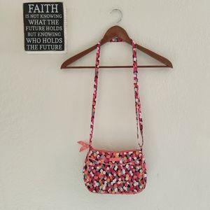 Vera Bradley 💜 Pixie Confetti Quilt Crossbody Bag